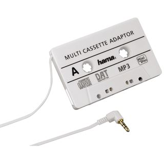 Hama MP3-/CD-Adapter Kfz, Weiß