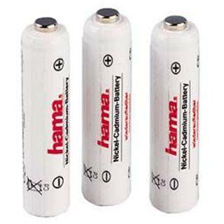 Hama Akkus AAA / Micro Nickel-Metall-Hydrid 500 mAh 3er Pack
