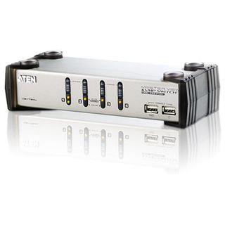 ATEN Technology CS1734A 4-fach VGA-KVM-Switch