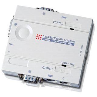 Automatischer PC-Umschalter 2-fach, Pocket-
