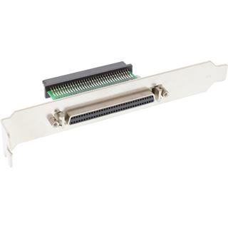 Adapter SCSI III (UW) Slotblech 68pol mini Sub D Bu inne