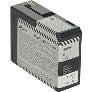 Epson Tinte C13T580800 schwarz matt