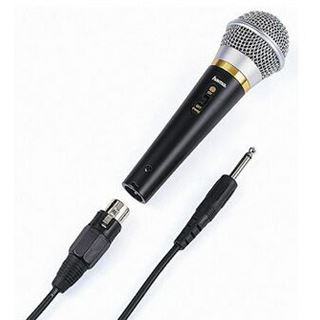 Hama DM 60 6,3 mm Klinke + XLR Mikrofon