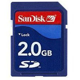 SanDisk Secure Digital Card (SD) 2048MB bulk