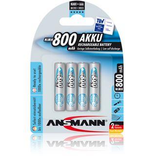 ANSMANN maxE AAA / Micro Nickel-Metall-Hydrid 800 mAh 4er Pack