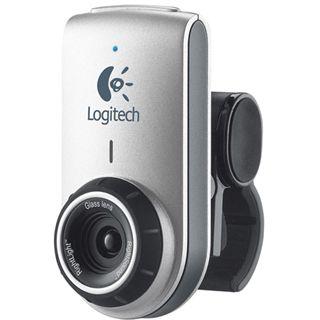 Logitech Web Kamera Deluxe QuickCam 0.3 MPixel 640x480 Schwarz/Silber USB 2.0