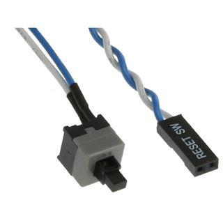 InLine Strom Reset-Taster 0,3m Kabel für Mainboards (26648A)