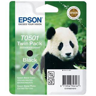 Epson C13T050142 Schwarz 2x 15ml Kit