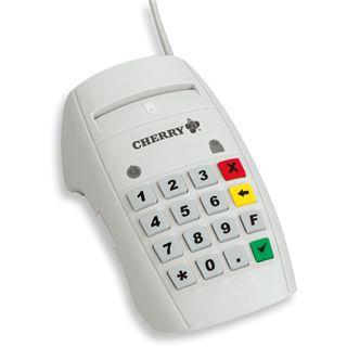CHERRY SmartTerminal ST-2000U Chipkartenleser für SmartCard (ST-2000UC-R)