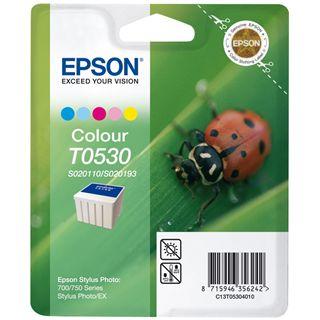 Epson Tinte C13T053040 cyan, magenta, gelb, cyan hell, magenta hell