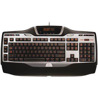 Logitech G15 Gaming Refresh Tastatur Schwarz/Silber Deutsch USB
