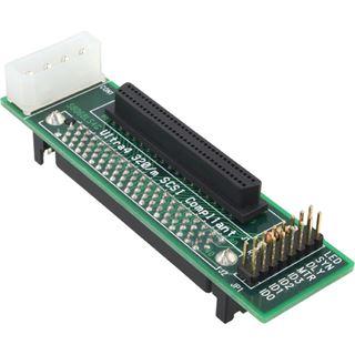Adapter SCA 80pol buchse 68pol bu.