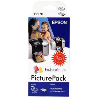 Epson C13T557040BH Schwarz + Farbig inkl Fotopapier