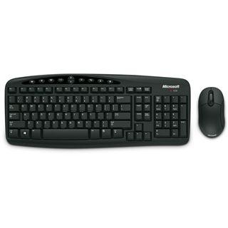 Microsoft Cordless Desktop 700 V2 Tastatur+Maus Schwarz Deutsch USB