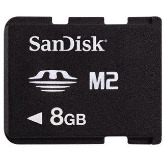 8 GB SanDisk M2 Memory Stick Micro Retail