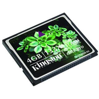 4 GB Kingston Elite Pro Compact Flash TypI 133x Bulk