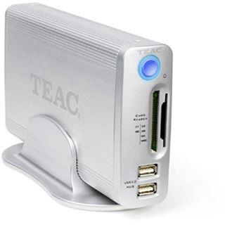 "500GB Teac HD-35CRU-2x 3.5"" (8.89cm) Silber USB2.0"