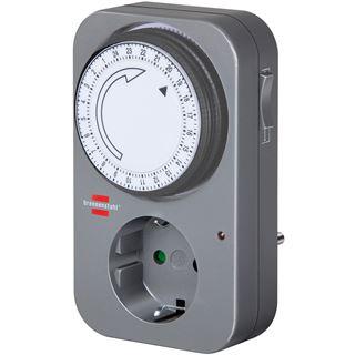 Brennenstuhl Zeitschaltuhr mechanisch MZ 20 auf Grau