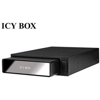 "ICY BOX IB-390StUSD-B 3.5"" (8,89cm) eSATA/USB 2.0 schwarz"