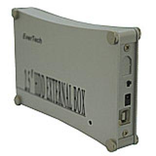 """2,5"""" (6,35cm) Evertech ET-1550 IDE -> USB Aluminium"""