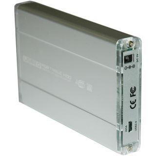 "2.5""(6,35cm) Evertech ET-1574 Alu SATA USB 2.0 Silber"