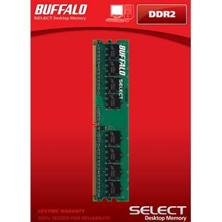 1024MB Buffalo Select DDR2 800MHz CL5