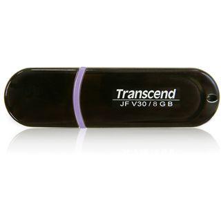 8 GB Transcend JetFlash V30 schwarz USB 2.0