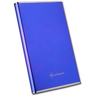 "2.5"" (6,35cm) Sharkoon Rapid Case Alu IDE USB 2.0 Blau"