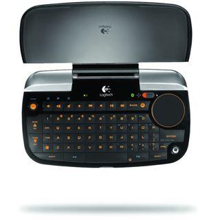 Logitech diNovo Mini Tastatur Schwarz/Silber Deutsch USB
