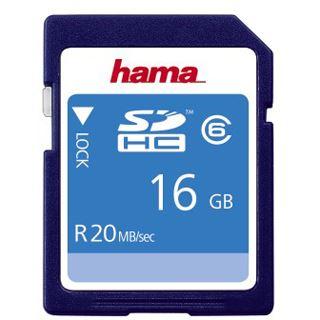 16 GB Hama Pro SDHC Class 6 Retail