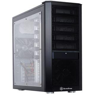 Silverstone Kublai KL02 Midi Tower ohne Netzteil schwarz