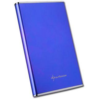 "2.5"" (6,35cm) Sharkoon Rapid Case SATA USB 2.0 Blau"