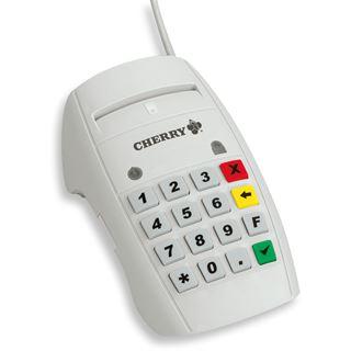 CHERRY MKT+ Terminal ST-2052 Chipkartenleser für SmartCard (ST-2052UGZ)