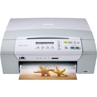 Brother DCP-165C A4 6000x1200dpi Color Tinte MFP U
