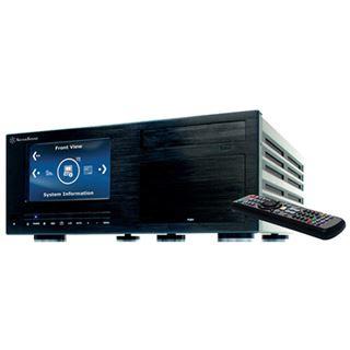 Silverstone Crown CW03B-MT Desktop ohne Netzteil schwarz