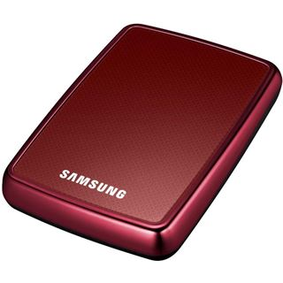 "320GB Samsung S2 Portable HXMU032DA/G42 2.5"" (6.4cm) USB 2.0 rot"