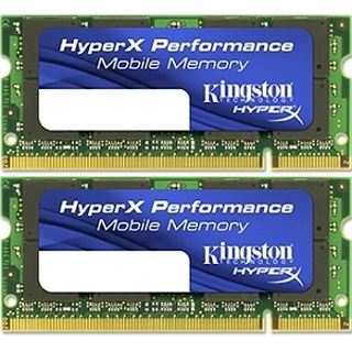 2GB Kingston HyperX DDR2-800 SO-DIMM CL5 Dual Kit