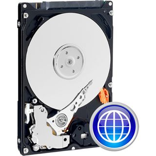 "160GB WD Scorpio Blue WD1600BEVT 8MB 2.5"" (6.4cm) SATA 3Gb/s"