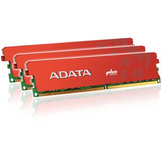 6GB ADATA XPG + Series DDR3-1600 DIMM CL8 Tri Kit