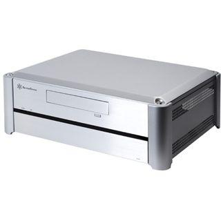Silverstone Grandia GD02S Desktop ohne Netzteil silber