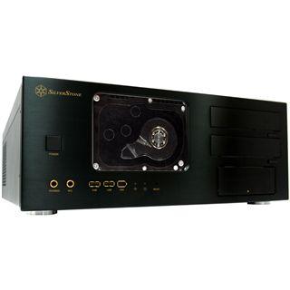 Silverstone Crown CW01-WD Desktop ohne Netzteil schwarz