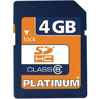 4 GB Platinum BestMedia SDHC Class 6 Retail