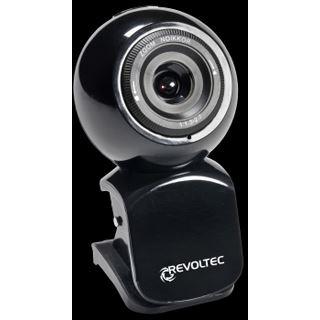 Revoltec Webcam W1 Schwarz