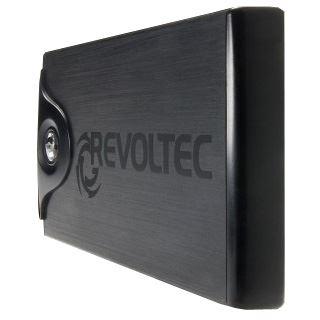 "Revoltec File Protector 2.5"" (6,35cm) USB 2.0 schwarz"