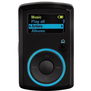 8GB SanDisk SANSA CLIP FM Schwarz