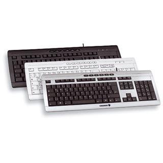 CHERRY STREAM XT Corded Keyboard PS/2 & USB Englisch schwarz (kabelgebunden)
