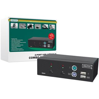 Digitus DC-11202-1 2-fach Desktop KVM-Switch