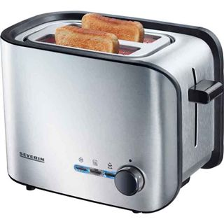 Severin Automatik-Toaster AT 2595 alu-sw