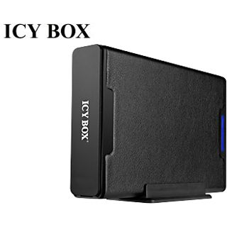 """3.5""""(8,89cm) Icy Box IB-362STUS2-B SATA/eSATA USB 2.0 Schwarz"""