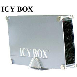 """ICY BOX IB-351AStU 3.5"""" (8,89cm) USB 2.0 silber"""